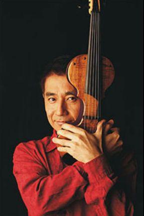 ヴァイオリンと中西俊博氏