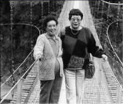 橋田寿賀子先生と丸山静江さん