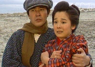 若い頃のおしんと浩太