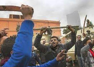 エジプトで停電に伴い起こった暴動