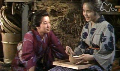 姉・はるの最期に会いに来るおしん役の田中裕子