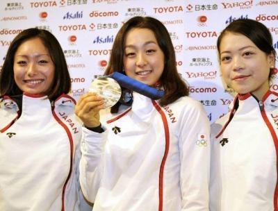 第21回冬季オリンピックバンクーバー大会で銀メダルを獲得した浅田真央