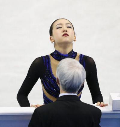 2013年福岡 グランプリファイナルでの浅田真央さん