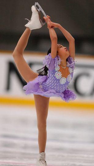 2002年全日本フィギュアスケート・浅田真央