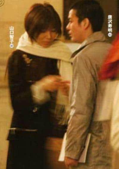 若い時の山口智子さんと唐沢寿明さん