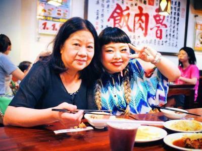 渡辺直美さんとお母さん
