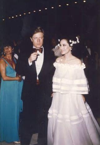 デヴィ夫人とエルゼア・ド・サブラン公爵