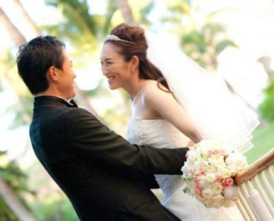 素敵な旦那さんと結婚式をした杉山愛さん