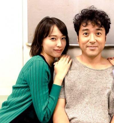 とっても仲良しなムロツヨシさんと戸田恵梨香さん