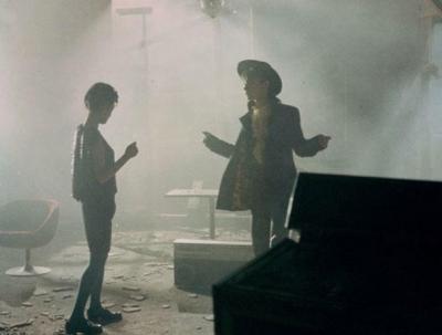 伝説のカルト映画『星くず兄弟の伝説』での戸川京子さん1985年