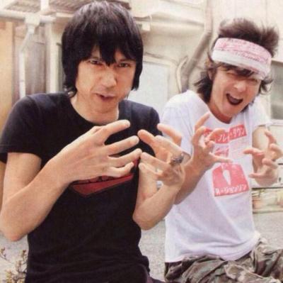兄弟みたいな甲本ヒロトさんと真島昌利さん