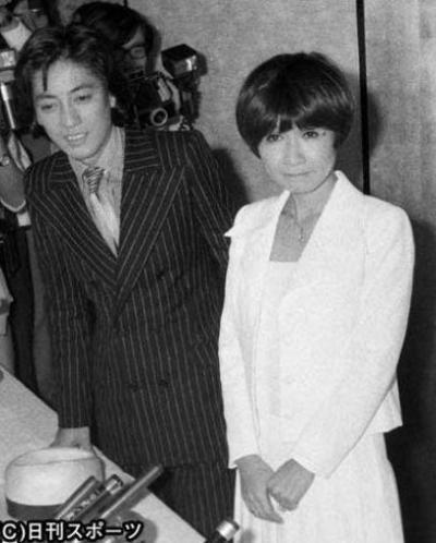 沢田研二さんと伊藤エミさん