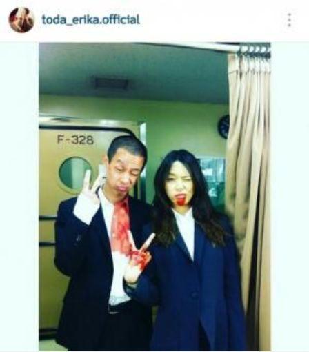 『SPEC』で共演した加瀬亮さんと戸田恵梨香さん