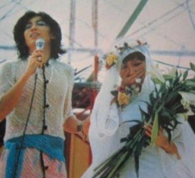 比叡山延暦寺での結婚式 沢田研二&伊藤エミ