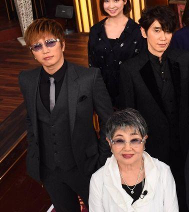 芸能人格付けスペシャルに出演する泉ピン子さんとGACKTさん