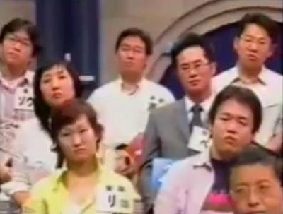 若い頃の櫻井よしこさん番組参加者の席の風景