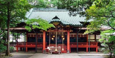 櫻井よしこさんの自宅があると言われている神社